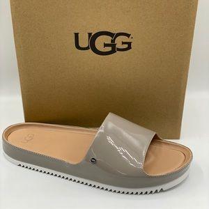 UGG Women's Jane Patent Slide Beige